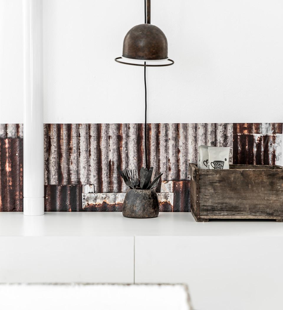 Tin Panel Image