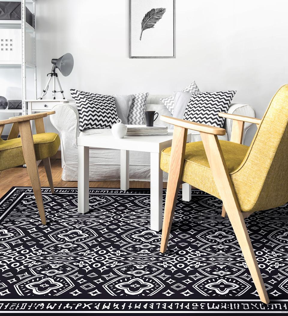 Aziz Floor Art Image