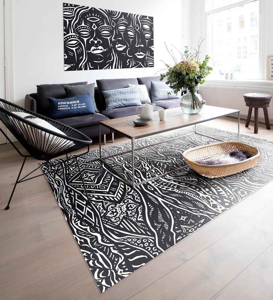Underground Floor Art Image