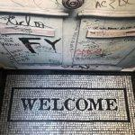 Welcome mosaic mat Image