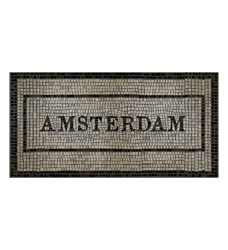 Amsterdam mosaic mat Image