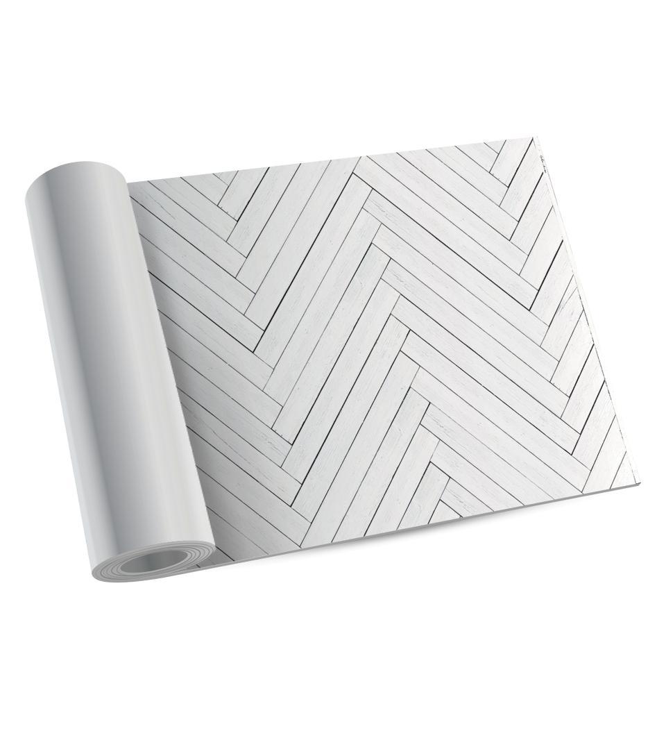 White Fishbone – Modu Floor Image